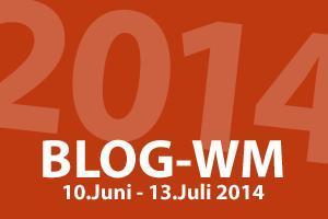 Wir sind bei der WM dabei...bei der Blog-WM!!!