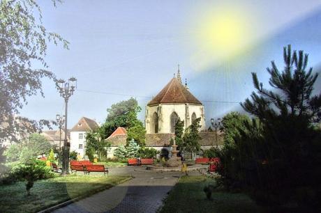 Rumänische Stadt