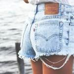Fashion Trend Watch: Die Jeans Shorts