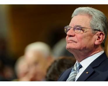 Gauck ruft zu den Waffen!