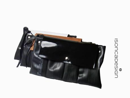 Upcycling Clutch Aus Fahrradschlauch