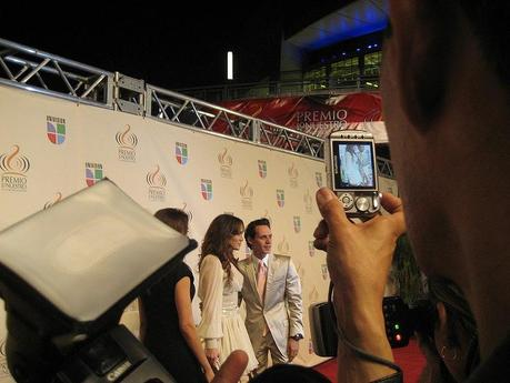 Marc Anthony und Jennifer Lopez bei den Lo Nuestro Awards, Miami