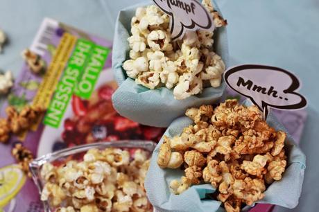 rezept popcorn selber machen barbecue cheese karamell. Black Bedroom Furniture Sets. Home Design Ideas
