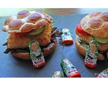 Ein Snack zur Fußball WM - iglo Käpt`ns Fischfilet Burger