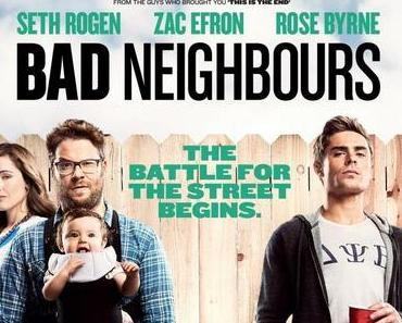 Review: BAD NEIGHBORS – Lautstarker Kleinkrieg am Gartenzaun