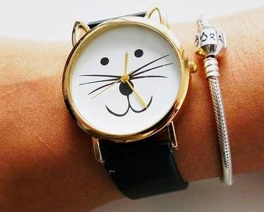 Chinakauf: Armbanduhr (Katze)
