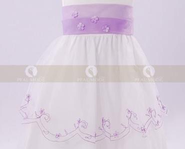 Blumenmädchenkleider für kleine Prinzessinnen