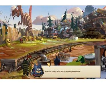 Bernd das Brot und die Unmöglichen –  Brotiges Adventure ab September für PC