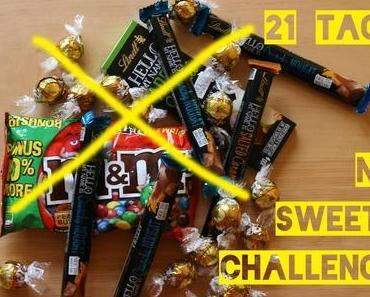 Geschafft! No Sweets Challenge – 21 Tage ohne Süßigkeiten
