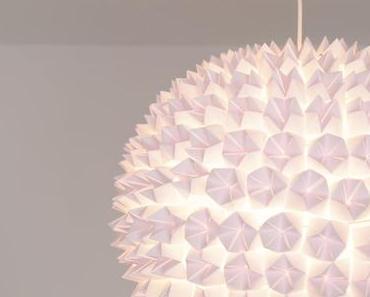 DIY - Design Origami Lampe