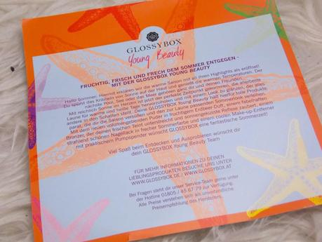 [Unboxing] Glossybox Young Beauty Juni 2014