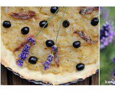 Zwiebeltarte aus der Provençe – Pissaladière