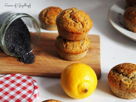 Orange Lemon Poppy Seed Muffins