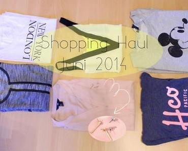 Shopping Haul Juni 2014 | Only, Mango, h&m, Holister