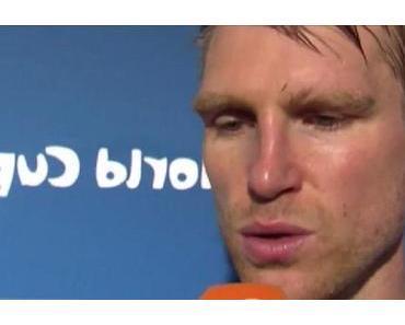 Interview: Leicht gereizter Per Mertesacker nach dem 2:1 SIEG gegen Algerien