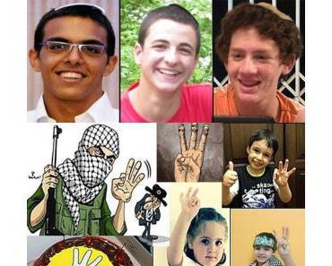 Die Ermordung von Eyal Yifrach, Gilad Shaer und Naftali Frenkel im Angesicht der deutschen Barmherzigkeit für die Palästinenser und deren Ideologie