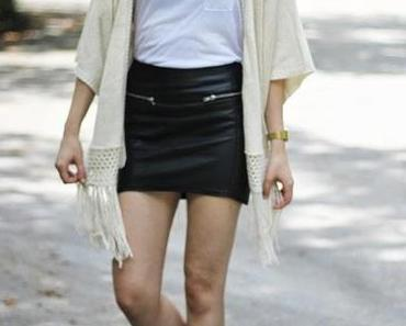 OOTD: Leather in Summer!