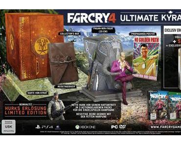Far Cry 4: Ubisoft zeigt neuen Trailer und stellt die Ultimate Kyrat Edition vor