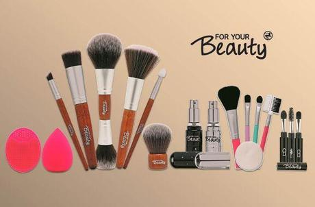Preview: neue Kosmetiktools und Pinsel von For Your Beauty / Rossmann