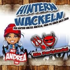Die Partyteufel und Andrea - Hintern Wackeln