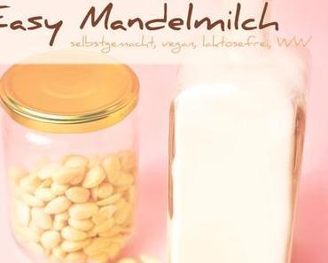 Easy Mandelmilch | laktosefrei, vegan, WW