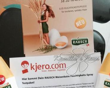 Das neue Rausch Weizenkeim Feuchtigkeitsspray - Test von Kjero