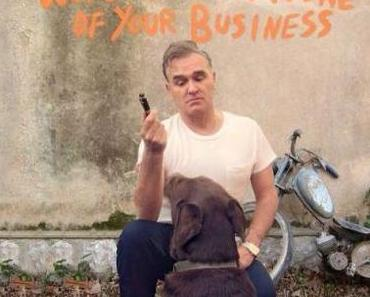 "Fuck Weltfrieden? Morrissey und sein neues Album ""World Peace Is None Of Your Business"" hier im Stream"
