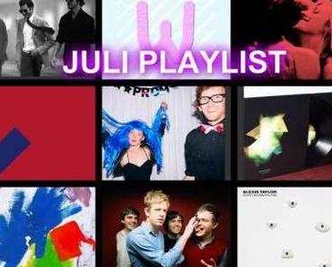 JULI PLAYLIST 2014: mit Alexis Taylor, Blaudzun, Sylvan Esso, Spoon, Jamie xx, Get Well Soon und mehr
