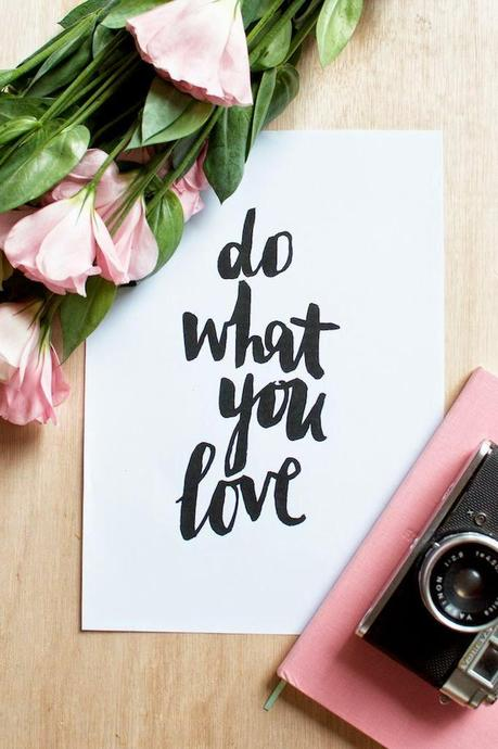 Quote of the Day :: Do what you love