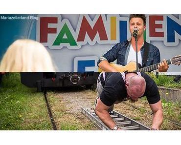 """Nivea Familienfest in St. Sebastian mit """"Zugzieher"""" Lars Hermann"""