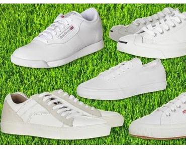 Yay or nay? Weiße Sneaker im Sommer