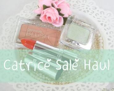 Catrice Sale Haul -Sommer 2014