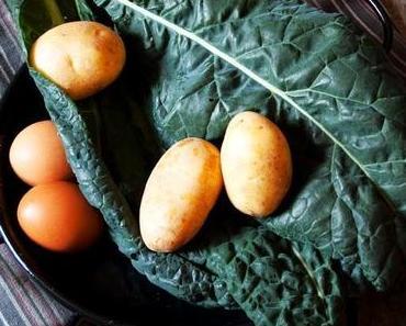 {Healthy} Kale-Kartoffel-Frittata