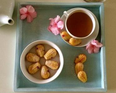 Johannisbeer-Madeleines – Fruchtig, lockerer Mini-Sandkuchen