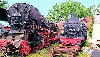 Im Eisenbahnmuseum Kranichstein (Teil 1)