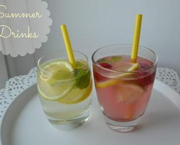 momentaner Lieblingsdrink - Limonade | Summer Drink |