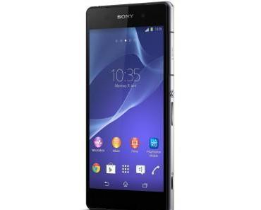 Sony Xperia Z2 erhält Update in Deutschland