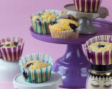 Heidelbeer-Muffins (vegan)