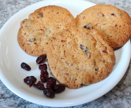 Cranberry Cookies mit Thermomix-Rezept
