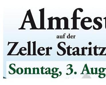 Termintipp: Almfest auf der Zeller Staritzen