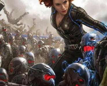 "Comic-Con: Marvel mit Concept-Art zu ""Avengers: Age of Ultron"" & ""Ant-Man"" - Ab 2017 gleich drei Filme pro Jahr!"