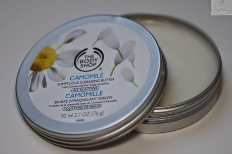 Holy Grail des Abschminkens? The Body Shop Camomile Cleansing Butter im Test