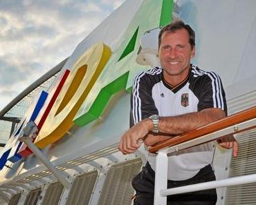 AIDA-Cruises: Trainieren mit Olympiasieger Lars Riedel auf AIDA Kreuzfahrt