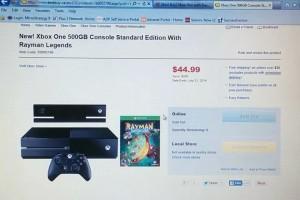 Xbox One für 45 Dollar!