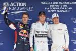 Formel 1: Rosberg auf Pole, Hamilton in Flammen