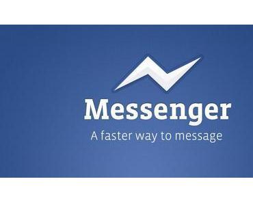 Facebook macht Ernst – Chatfunktion fliegt aus mobiler App