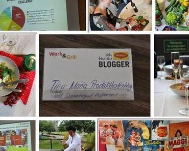 """Maggi Blogger Event """"Work&Grill""""- Ein Tag bei Nestlé"""