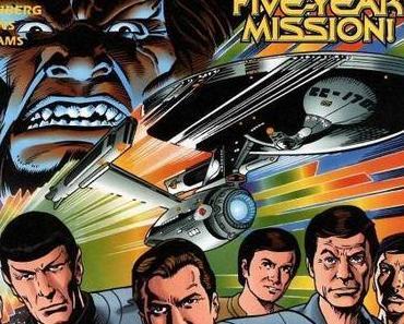 """Aus Watchman's Comicsammlung: """"Star Trek: Untold Voyages"""" (Marvel, 1998)"""
