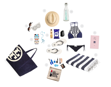 INIspiration: 10 Beach Bag Essentials