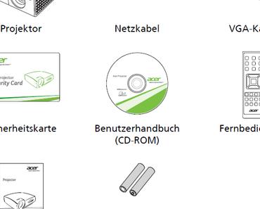 Acer X1340WH Beamer im Test